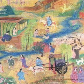 日本画 ✕ アイリッシュハープ展 ~ハープは描き、絵は奏で~