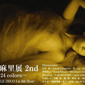 清水麻里展 2nd ~24Colors~ Mari Shimizu Group Photo Exhibition