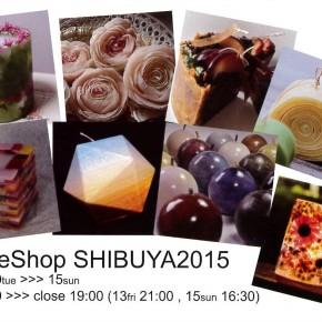 CandleShop SHIBUYA2015
